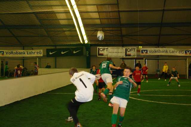 Indoor-Soccer-Turnier Volksbank Lahr