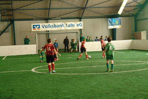 Indoor-Soccer-Turnier der Volksbank Lahr