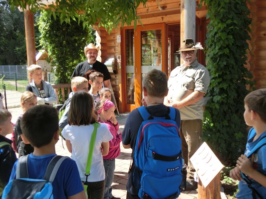 Ausflug Naturzentrum Rheinauen 25.08.2015