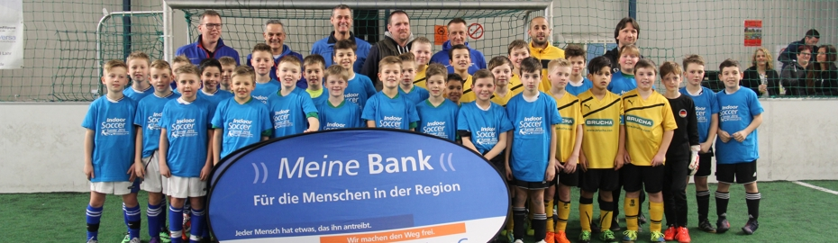 Pressemeldung 8. Indoor-Soccer-Turnier