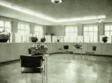 Schalterhalle 1954