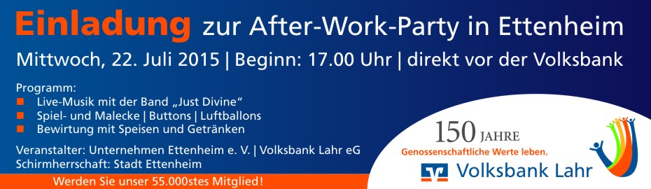 After-Work-Party Ettenheim