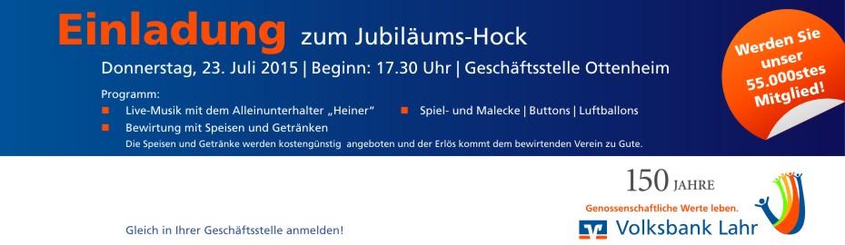 Jubiläumshock Ottenheim