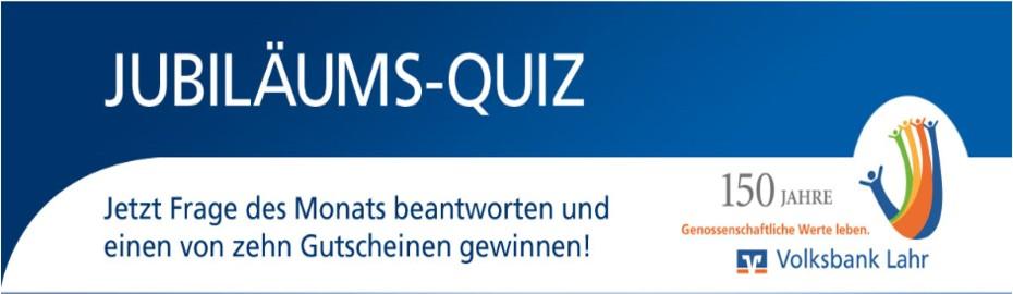 Jubiläums-Quiz