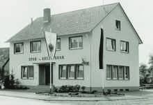 Der Neubau in Lahr-Dinglingen von 1963