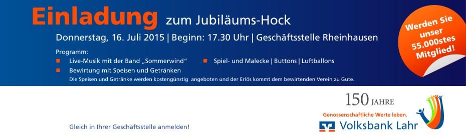 Jubiläumshock Rheinhausen