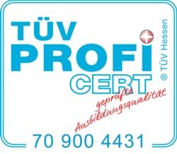 TüV PROFIcert - geprüfte Ausbildungsqualität